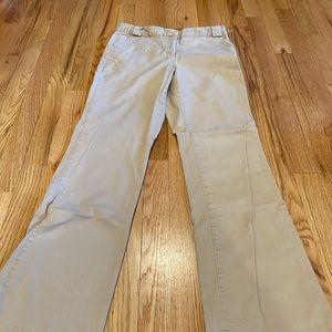 Isaac Mizrahi khaki pants size 6